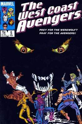The West Coast Avengers Vol. 2 (1985 -1989) #5