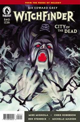 Witchfinder (comic-book) #20