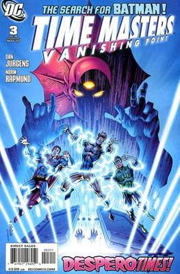 Time Masters: Vanishing Point (2010-2011) (Comic Book) #3