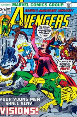The Avengers Vol. 1 (1963-1996) (Comic Book) #113