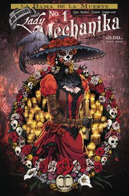Lady Mechanika: La Dama de la Muerte (Comic Book) #1