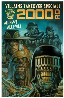 2000 AD - Villains Takeover Special!