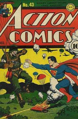 Action Comics Vol. 1 (1938-2011; 2016-) (Comic Book) #43