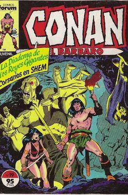 Conan el Bárbaro (1983-1994) (Grapa. 19x27. 36/32/24 páginas. Color.) #19