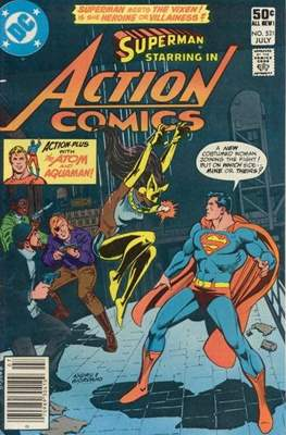 Action Comics Vol. 1 (1938-2011; 2016-) (Comic Book) #521