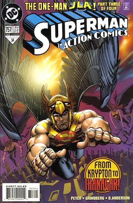 Action Comics Vol. 1 (1938-2011; 2016-) (Comic Book) #757