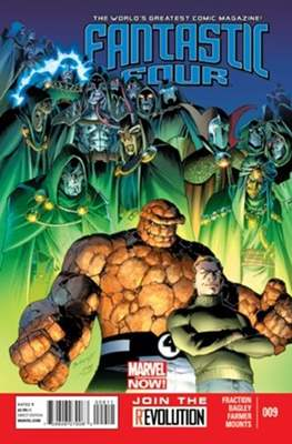Fantastic Four Vol. 4 (Comic Book) #9