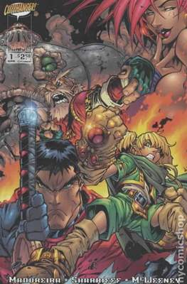 Battle Chasers (1998-2001 Variant Cover)