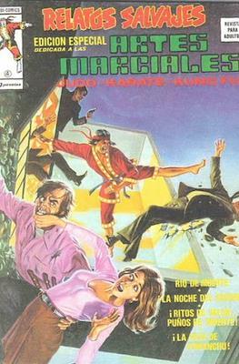 Relatos salvajes. Artes marciales Judo - Kárate - Kung Fu (1975-1979) (Rústica 52-68 pp) #4