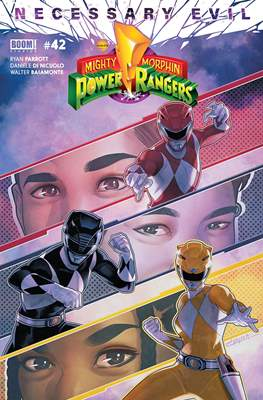 Mighty Morphin Power Rangers (Comic Book) #42