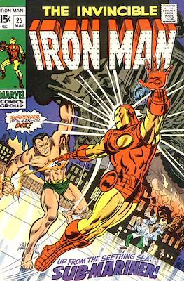 Iron Man Vol. 1 (1968-1996) (Comic book) #25