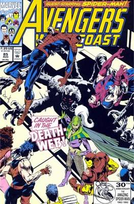 West Coast Avengers Vol. 2 (Comic-book. 1985 -1989) #85