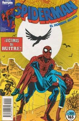 Spiderman Vol. 1 / El Espectacular Spiderman (1983-1994) (Grapa 32-48 pp) #205