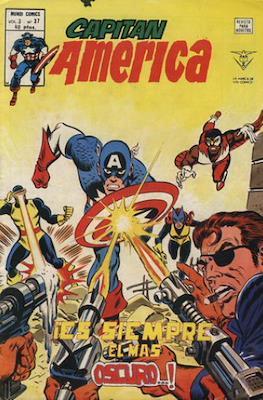 Capitán América Vol. 3 (1975-1980) (Grapa) #37