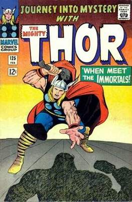 Journey into Mystery / Thor Vol 1 (Comic Book) #125