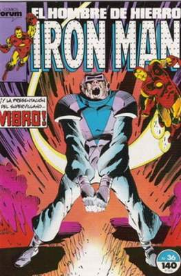 Iron Man Vol. 1 / Marvel Two-in-One: Iron Man & Capitán Marvel (1985-1991) (Grapa, 36-64 pp) #36