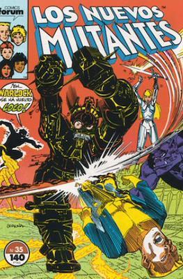 Los Nuevos Mutantes Vol. 1 (1986-1990) (Grapa 32-64 pp) #35