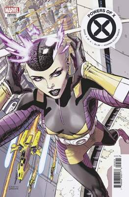 Powers of X (Variant Cover) (Comic Book) #5.1