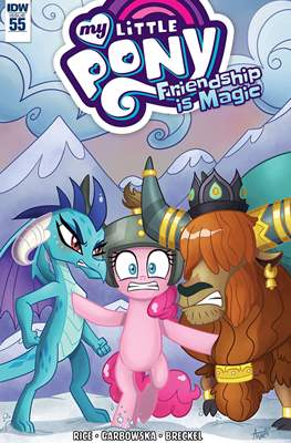 My Little Pony: Friendship Is Magic (Comic-Book) #55