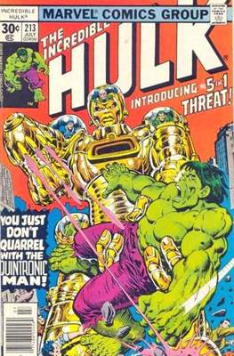 The Incredible Hulk Vol. 1 (1962-1999) (Comic Book) #213