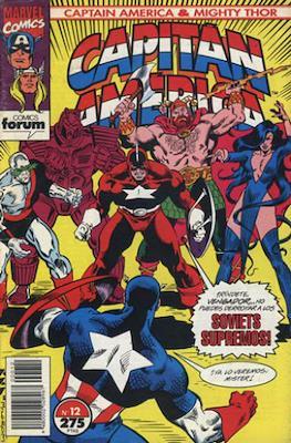 Capitán América & Thor el Poderoso Vol. 2 (1993-1994) (Grapa. 48 páginas.) #12