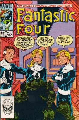 Fantastic Four Vol. 1 (1961-1996) (saddle-stitched) #265