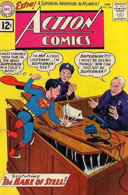 Action Comics Vol. 1 (1938-2011; 2016-) (Comic Book) #284