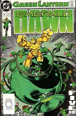 Green Lantern: Emerald Dawn (Grapa) #5