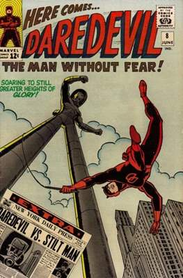 Daredevil Vol. 1 (1964-1998) (Comic Book) #8