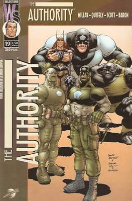 The Authority Vol. 1 (2000-2003) (Grapa 28 pp) #19