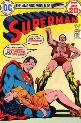Superman Vol. 1 / Adventures of Superman Vol. 1 (1939-2011) (Comic Book) #281