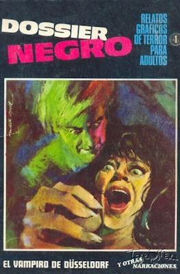 Dossier Negro (Rústica y grapa [1968 - 1988]) #1