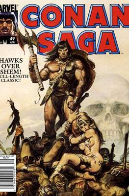 Conan Saga (Comic-book) #49