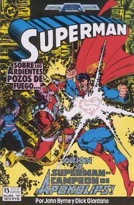 Superman: El hombre de acero / Superman Vol. 2 (Grapa 36 pp) #12