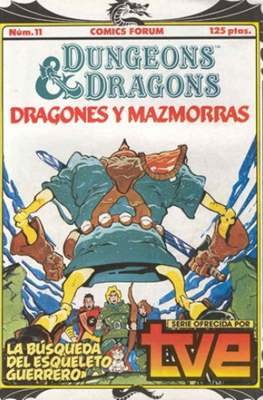 Dungeons and dragons. Dragones y mazmorras #11