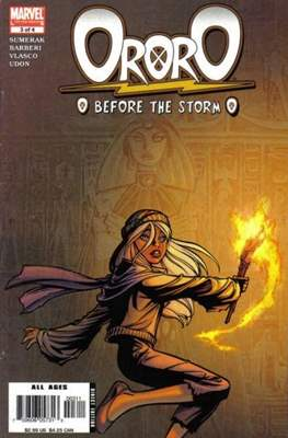 Ororo: Before The Storm (Comic Book) #3