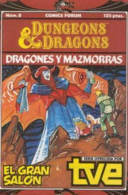 Dungeons and dragons. Dragones y mazmorras #8