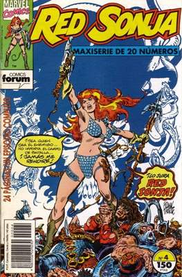 Red Sonja (Grapa 24 pp) #4
