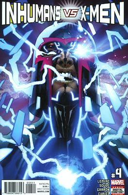 Inhumans vs. X-Men #4
