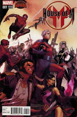 House of M Vol. 2 (Variant Cover) #1.3