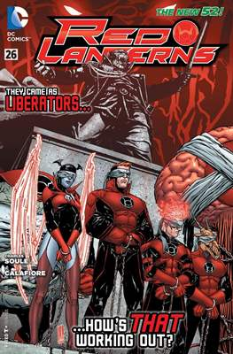 Red Lanterns (2011 - 2015) New 52 #26