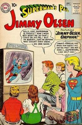 Superman's Pal, Jimmy Olsen / The Superman Family (Comic Book) #46