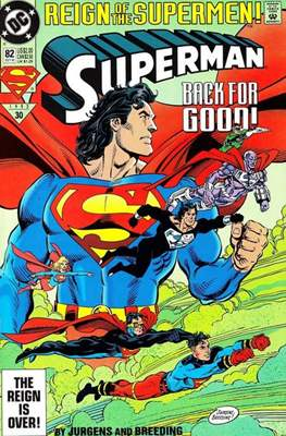 Superman Vol. 2 (1987-2006) (Comic Book) #82