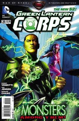 Green Lantern Corps Vol. 3 (2011-2015) #21