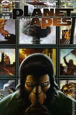 Revolution on the Planet of the Apes (Comic Book 32 pp) #4