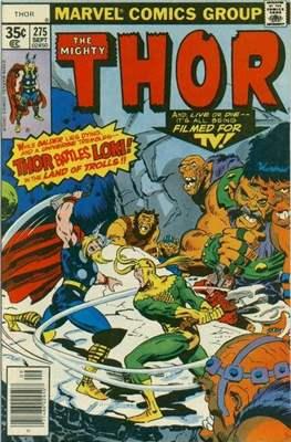 Journey into Mystery / Thor Vol 1 (Comic Book) #275