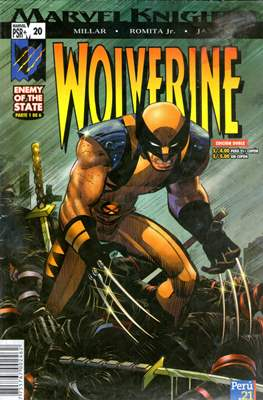 Wolverine Enemy Of The State / Agent Of S.H.I.E.L.D.