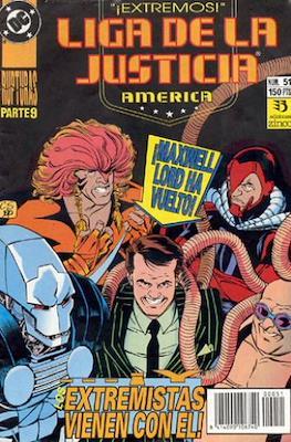 Liga de la Justicia / Liga de la Justicia internacional / Liga de la Justicia de América #51