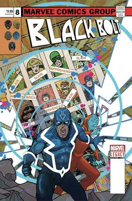Black Bolt (Variant Covers) #8