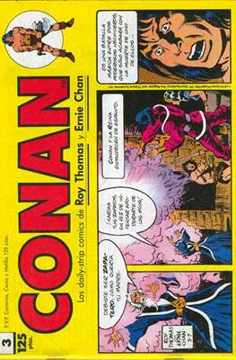 Conan. Los daily-strip comics (1989) (Grapa. 17x26 apaisado. 48 páginas. B/N.) #3